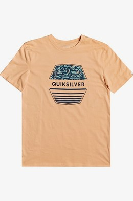 Мужская футболка QUIKSILVER Drift Away CORAL SANDS (ngj0) фото