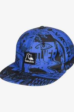 Мужская бейсболка QUIKSILVER Flow Ride DAZZLING BLUE (ppm0) фото