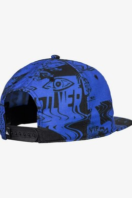 Мужская бейсболка QUIKSILVER Flow Ride DAZZLING BLUE (ppm0) фото 2