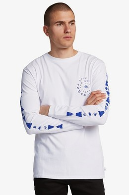 Мужской лонгслив QUIKSILVER Originals WHITE (wbb0) фото