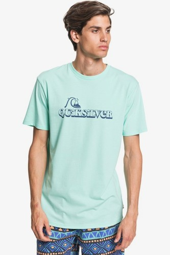 Мужская футболка QUIKSILVER Lost Sparks (BEACH GLASS (gcz0), M) мужская шапка quiksilver m