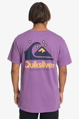 Мужская футболка QUIKSILVER Originals Модель EQYZT05736 CRUSHED GRAPE (pnh0) фото 2