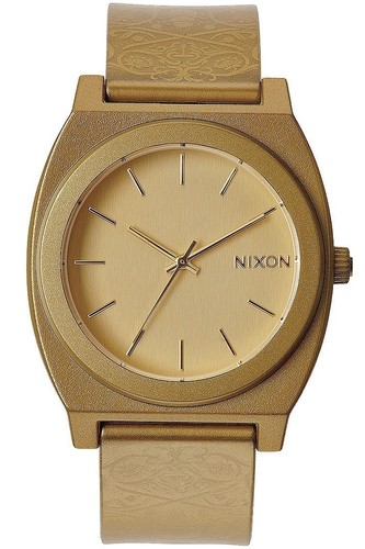 Часы NIXON Time Teller P (METALLIC GOLD/BEETLEPOINT) кварцевые часы женские nixon bullet gold lavender