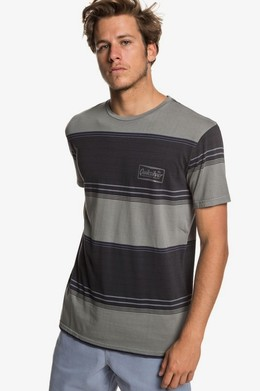 Футболка QUIKSILVER Gradient Stripe TARMAC GRADIENT STRIPES (kta3) фото