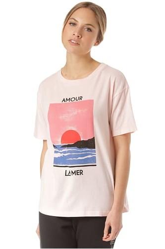 цена на Женская футболка Billabong Amour La Mer (Barely Blush, M)