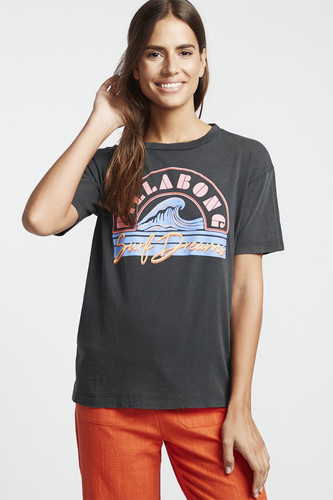 Футболка женская Billabong Surf Dream (Black, M)