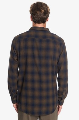 Рубашка с длинным рукавом QUIKSILVER Inca Gold Check DEEP DEPTH INCA CHECK (czc1) фото 2