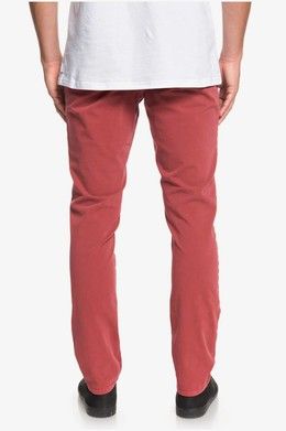 Узкие брюки-чинос QUIKSILVER Krandy Slim BRICK RED (rqn0) фото 2