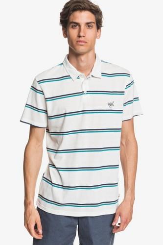 Мужская рубашка-поло QUIKSILVER Coreky Mate (SNOW WHITE S3 COREKY MATE (wbk3), S)