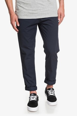 Мужские брюки QUIKSILVER Hue Hiller BLUE NIGHTS (bst0) фото