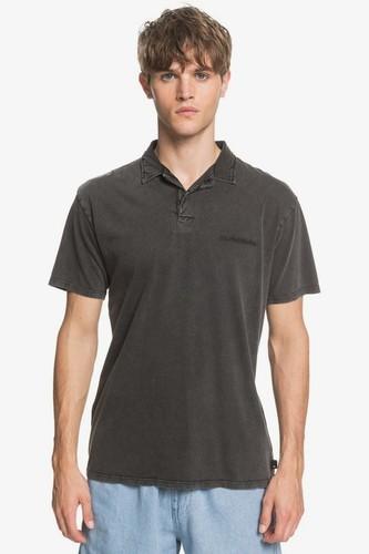 Мужская рубашка поло QUIKSILVER Acid Sun (BLACK (kvj0), M)