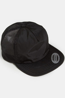 Бейсболка FLEXFIT Unstructured Trucker Cap Black фото