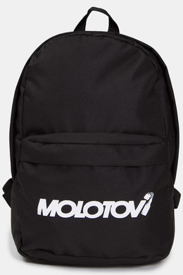 Рюкзак MOLOTOV Custom Logo White Black фото