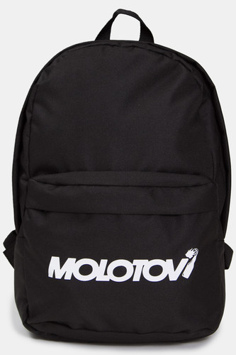 Рюкзак MOLOTOV Custom Logo White (Black)