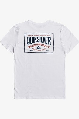 Мужская футболка QUIKSILVER Cloud Corner WHITE (wbb0) фото 2