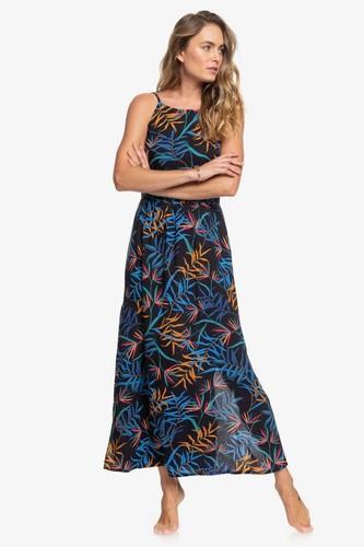 Женское платье ROXY Capri Sunset (ANTHRACITE WILD LEAVES (kvj9), XS)