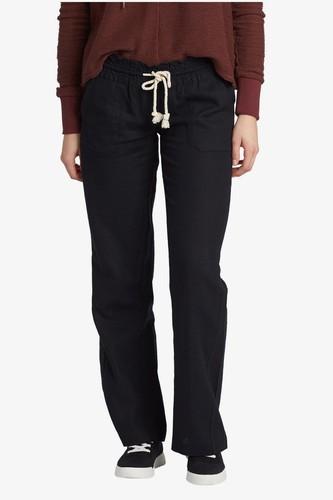 Женские пляжные брюки с широкими штанинами ROXY Oceanside (TRUE BLACK (kvj0), XL) цена 2017