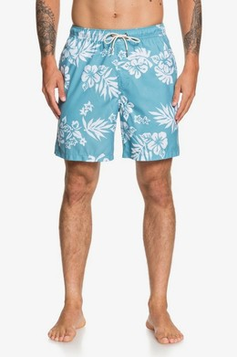 "Мужские плавательные шорты QUIKSILVER Waterman Floral Feelings 18"" STILL WATER (bhw6)"