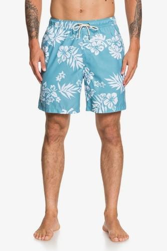 Мужские плавательные шорты QUIKSILVER Waterman Floral Feelings 18 (STILL WATER (bhw6), S)