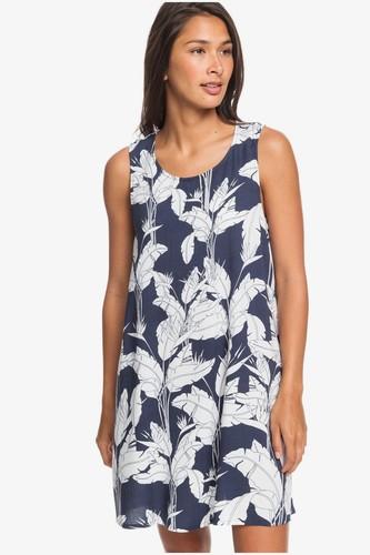 Женское платье без рукавов ROXY Tranquility Vibes (MOOD INDIGO FLYING FLOWERS (bsp7), XS)