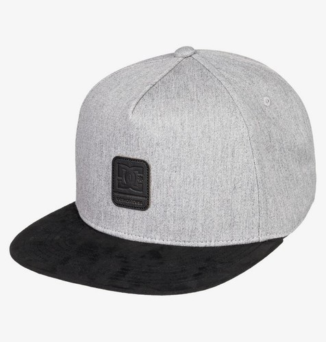 БЕЙСБОЛКА DC SHOES BRACKERS GREY HEATHER (knfh) фото 4