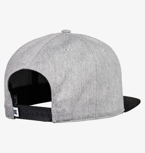 БЕЙСБОЛКА DC SHOES BRACKERS GREY HEATHER (knfh) фото 5