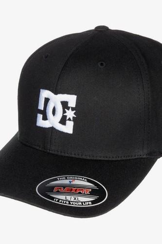 цена на БЕЙСБОЛКА DC SHOES FLEXFIT® CAP STAR (BLACK (blk), S/M)