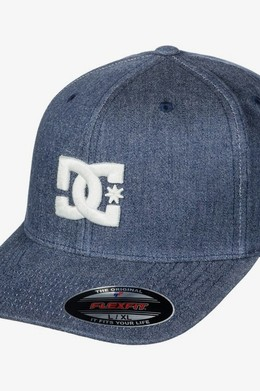 БЕЙСБОЛКА DC SHOES FLEXFIT® CAPSTAR DARK INDIGO (byj0) фото