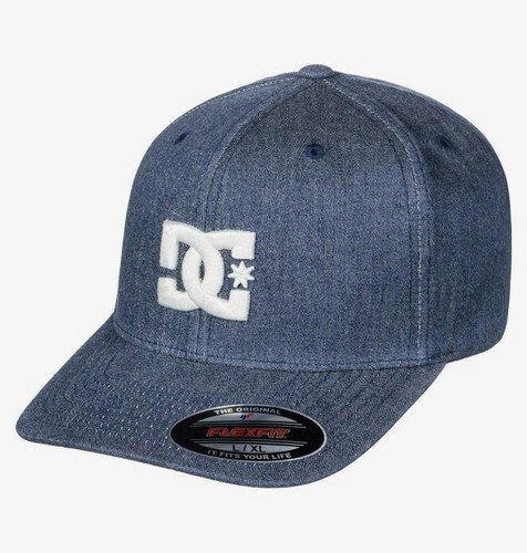 БЕЙСБОЛКА DC SHOES FLEXFIT® CAPSTAR DARK INDIGO (byj0) фото 4