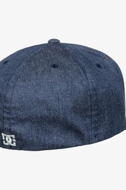 БЕЙСБОЛКА DC SHOES FLEXFIT® CAPSTAR DARK INDIGO (byj0) фото 2