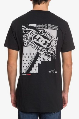 ФУТБОЛКА DC SHOES NULL BLACK (kvj0) фото 2