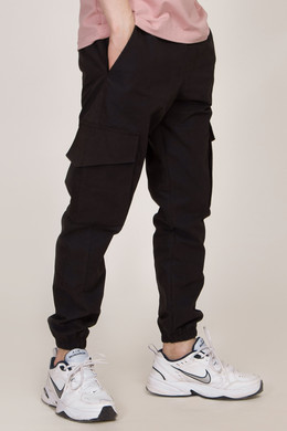 Брюки MOLOTOV Cargo Cotton Black фото