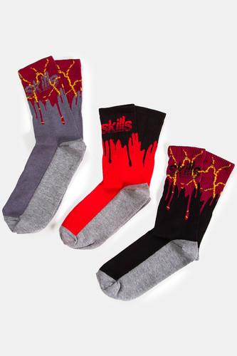 Набор носков SKILLS Пак 4 (Разноцветный) набор носков skills пак 5 разноцветный