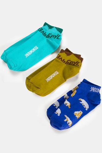 Набор носков ЗАПОРОЖЕЦ Пак 7 (Разноцветный)