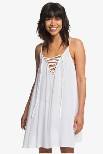 Платье ROXY Softly Love (BRIGHT WHITE (wbb0), XL)