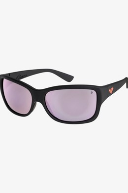 Солнцезащитные очки ROXY Athena Polarised MATTE BLACK/ ML ROSE GOLD POLA (xkkm) фото
