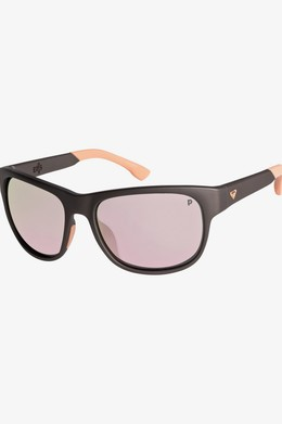 Женские солнцезащитные очки ROXY Eris Polarized MATTE METTALIC GREY/ML ROSE GO (xsns) фото