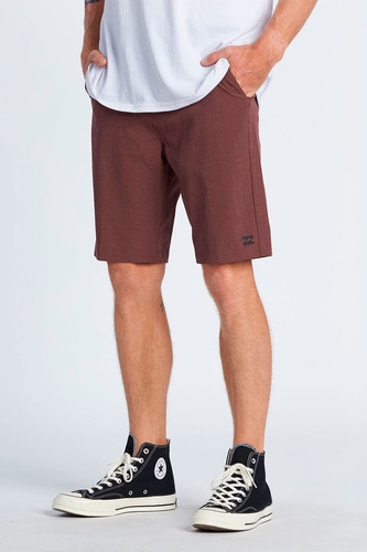 Шорты Billabong Crossfire Burgundy фото 6