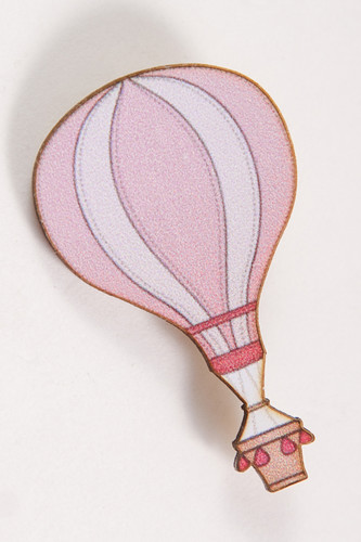 Значок КРЕПОСТЬ SOCKS Воздушный шар (Розовый)