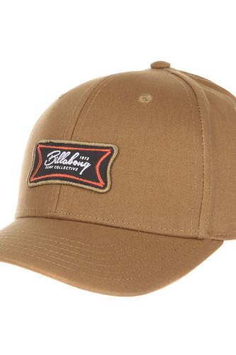 Мужская классическая бейсболка Billabong Walled Snapback (3730, U) шапка мужская billabong цвет коричневый l5bn09 bif8 594 размер универсальный