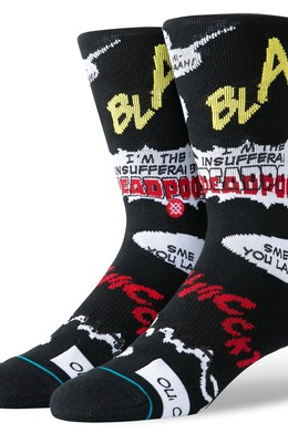 Носки STANCE DISNEY MENS BLAM BLACK фото