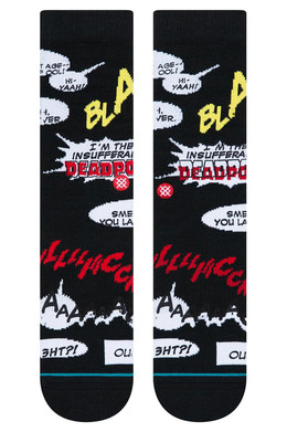 Носки STANCE DISNEY MENS BLAM BLACK фото 2