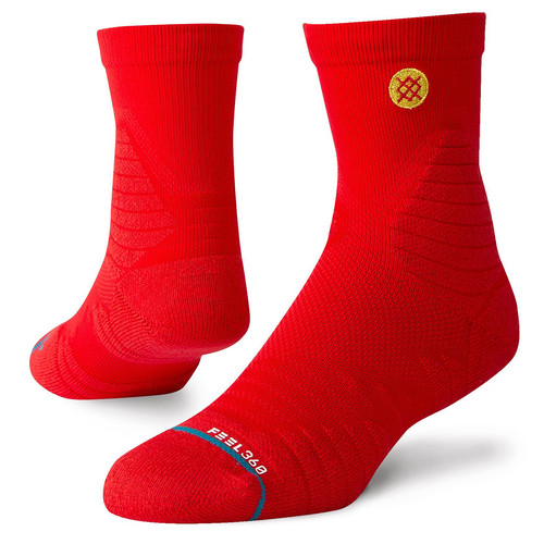 Носки STANCE GAMEDAY PRO QTR RED фото 4