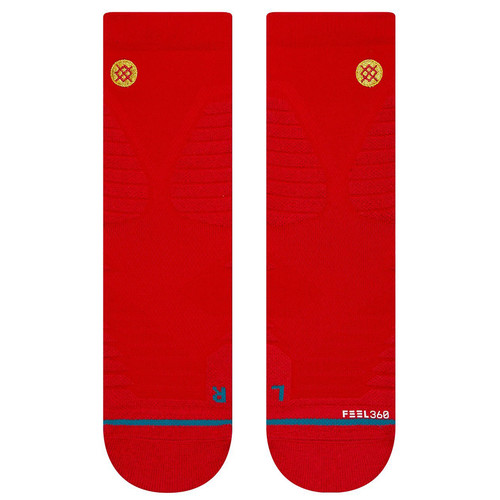 Носки STANCE GAMEDAY PRO QTR RED фото 5