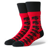 Носки STANCE THE WATCHER BLACK/RED фото