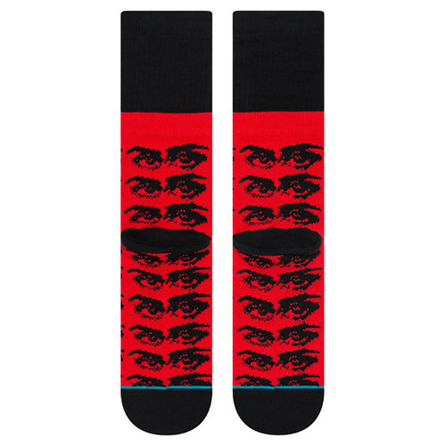 Носки STANCE THE WATCHER BLACK/RED фото 6