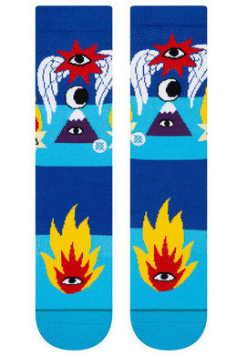 Носки STANCE CAVOLO SHOOTING STAR BLUE фото 2