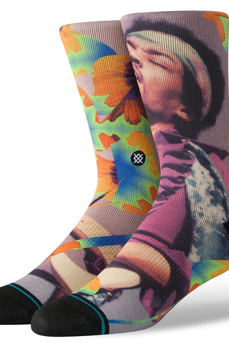 Носки STANCE JIMI FLOWERS (MULTI, L)