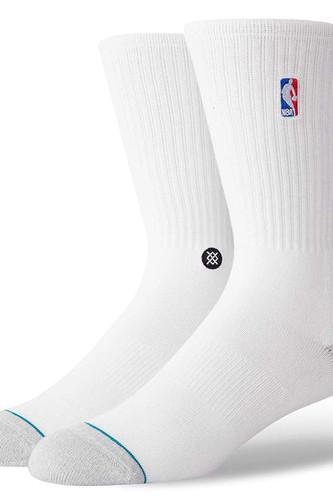 Носки STANCE NBA LOGOMAN CREW II (White, L)