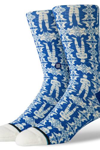 Носки STANCE SHAKRA CREW (BLUE, L)